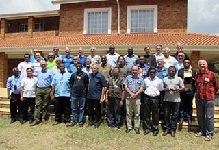 <strong>Johannesburg, South Africa - October 2015</strong>. From 20 to 24 October, a meeting of the Conference of the Provinces and Vice-Provinces of Africa-Madagascar took place in the presence of Fr Francesco Cereda, Vicar of the Rector Major, Bro. Jean-Paul Muller, SDB, Economer General, and Fr Américo Chaquisse, Councillor for the Africa- Madagascar Region.