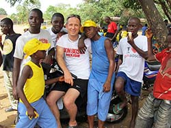 Photo for the article -RMG – POST-EBOLA: THE SOCIAL SITUATION AND THE SALESIAN RESPONSE